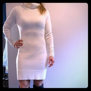 Long sleeve mid length dress